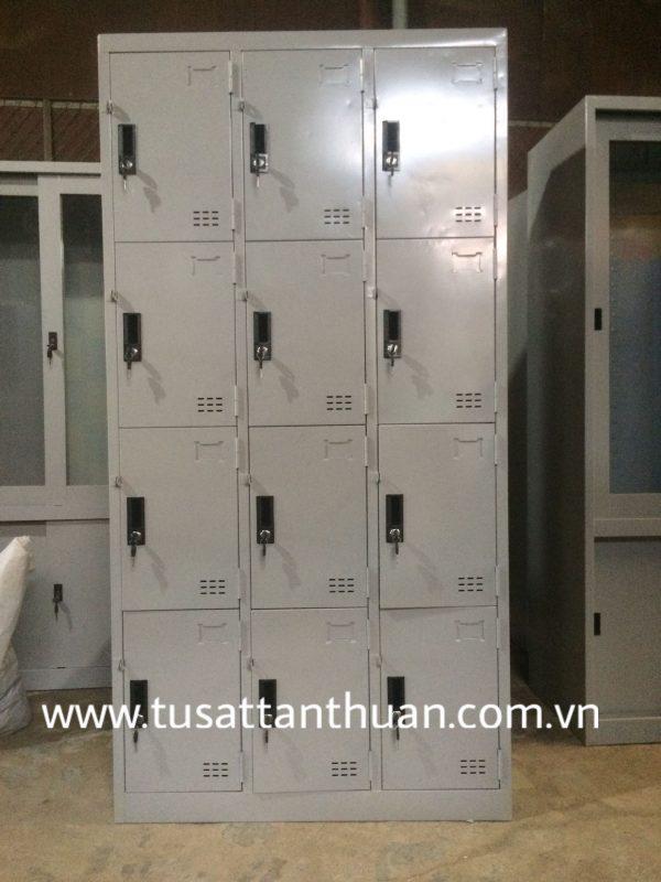 Tủ locker 12 ngăn 3 khoang
