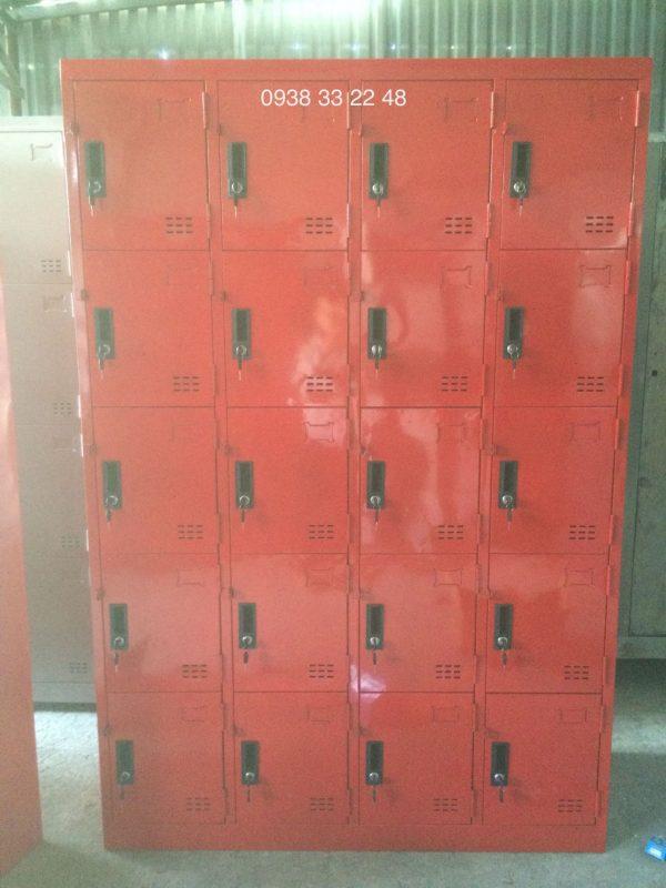 Tủ locker 20 ngăn 4 khoang 20C4K