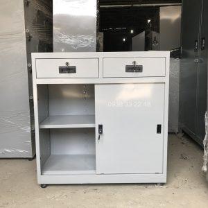 Tủ sắt đựng hồ sơ văn phòng cửa lùa TL02L2H