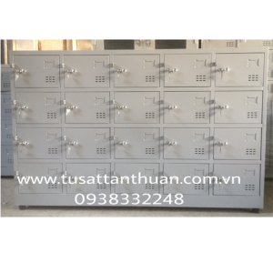 Tủ locker 20 ngăn màu ghi xám TYC20C5K