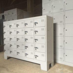 tủ locker 25 ngăn đựng giày dép văn phòng