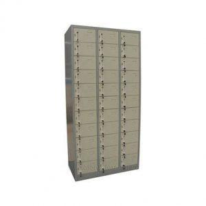 tủ locker 33 ngăn đựng giày dép văn phòng