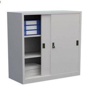 Tủ sắt đựng hồ sơ văn phòng 2 cửa lùa tole TL02