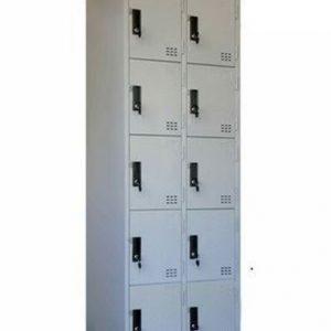 tủ locker 10 ngăn 2 khoang