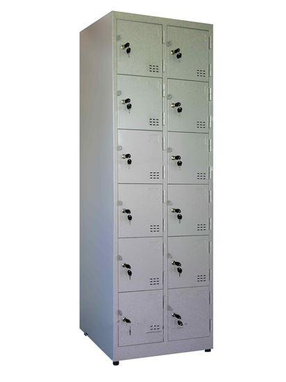 tủ locker 12 ngăn 2 khoang tcn12c2k