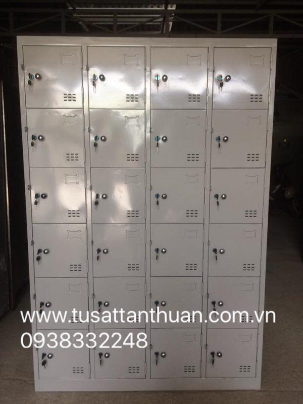 Tủ locker 24 ngăn 4 khoang 24C4K