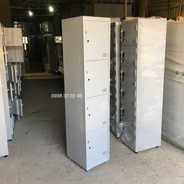 Tủ locker 4 ngăn 1 khoang