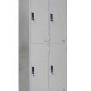 tủ locker 4 ngăn 2 khoang