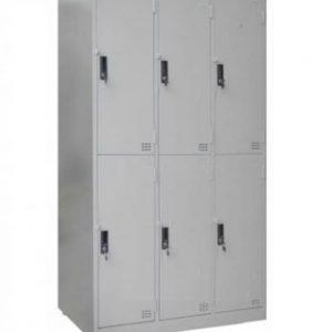 tủ locker 6 ngăn 3 khoang tcn6c3k