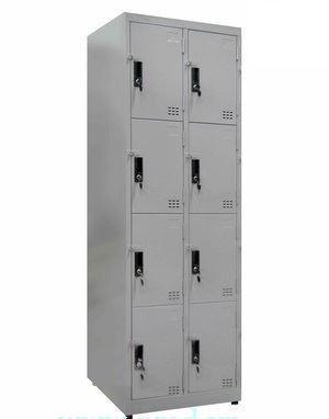 tủ locker 8 ngăn 2 khoang