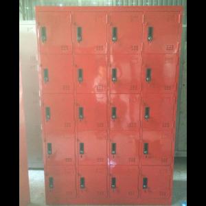 tủ locker 20 ngăn dùng trong trường học