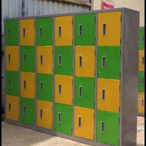 tủ locker 24 ngăn dùng trong trường học