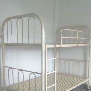 Giường sắt 2 tầng ống 49 1m6