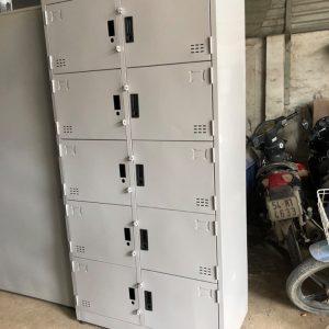 Tủ sắt đựng hồ sơ văn phòng 10 cửa mở tole 10C2K