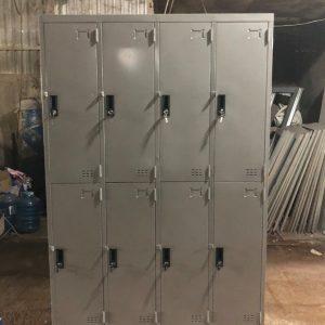 Tủ locker 8 ngăn 4 khoang TCN8C4K