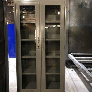 Tủ hồ sơ 2 cánh mở kính 2CMK915