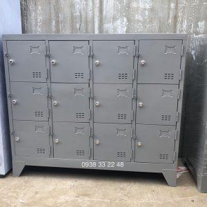 Tủ locker 12 ngăn 3 khoang 12C3K-TYC