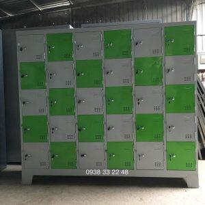 Tủ locker 30 ngăn 6 khoang 30C6K-TYC