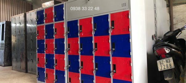 Gia công tủ locker theo yêu cầu khách hàng