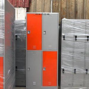Tủ locker 4 ngăn 2 khoang ngăn trong 4C2KCX-TYC