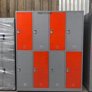 Tủ locker 8 ngăn 4 khoang ngăn trong 8C4KCX-TYC